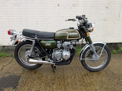 Lot 19-1973 Honda CB350F