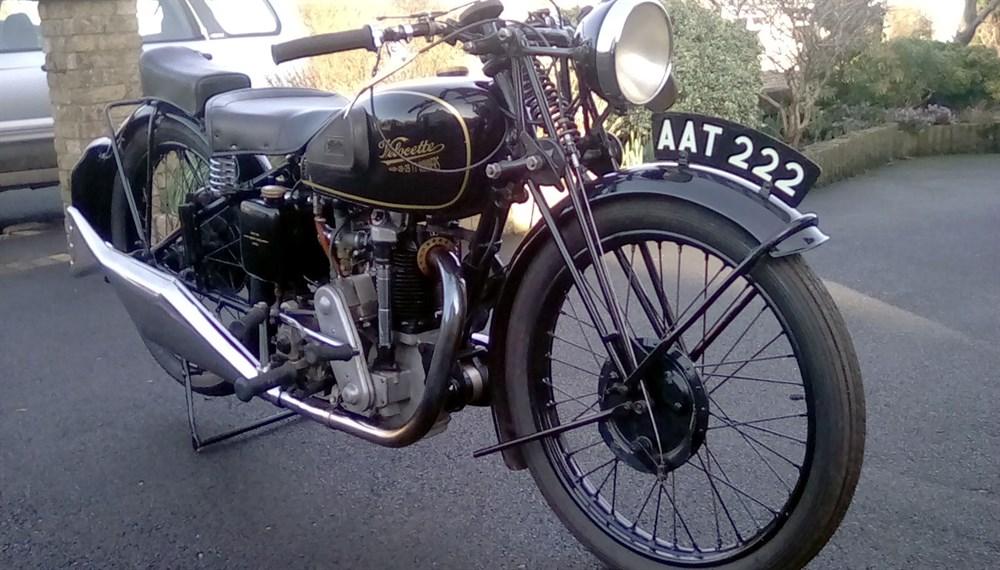 Lot 87 - 1934 Velocette KSS