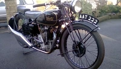 Lot 87-1934 Velocette KSS