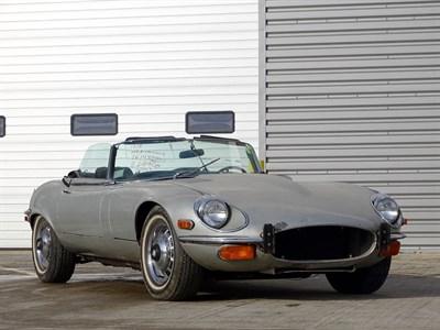 Lot 64-1974 Jaguar E-Type V12 Roadster