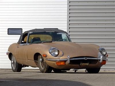 Lot 75-1969 Jaguar E-Type 4.2 Roadster