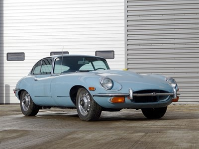 Lot 19-1968 Jaguar E-Type 4.2 Coupe