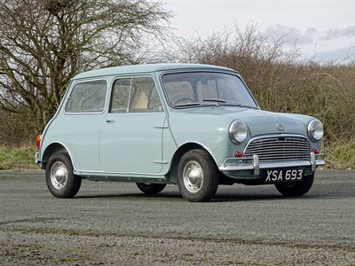 Lot 11-1963 Austin Mini 850 Super De Luxe