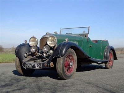 Lot 72-1936 Bentley 4.5 Litre Vanden Plas Tourer
