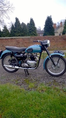 Lot 69-1954 Triumph T110 Tiger