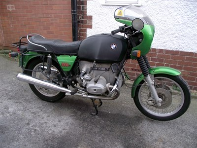 Lot 80-1978 BMW R100/7