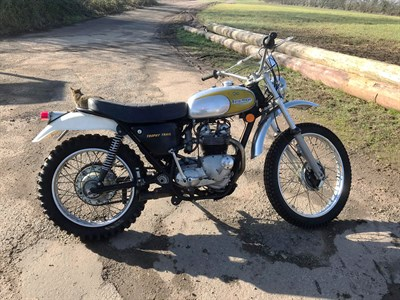 Lot 85-1973 Triumph TR5T Trophy Trail