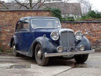 Lot 1-1938 Daimler 15hp 'Ritz' Saloon