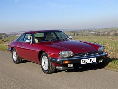 Lot 39-1989 Jaguar XJ-S 5.3 HE