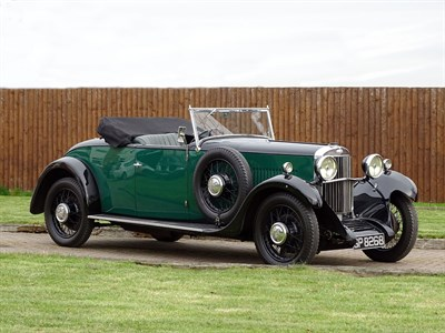 Lot 81-1931 Sunbeam 16 (18.2hp) Drophead Coupe