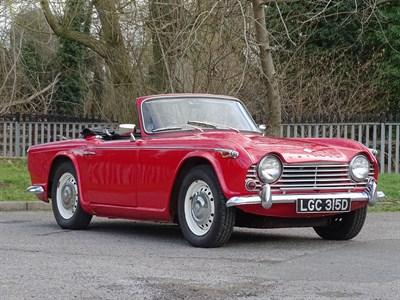 Lot 90-1966 Triumph TR4A IRS