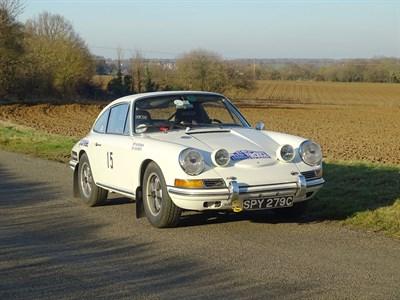 Lot 77-1965 Porsche 911 Rally Car