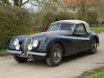 Lot 84-1954 Jaguar XK120 SE Drophead Coupe