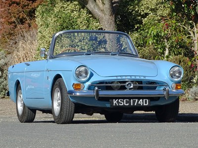 Lot 21-1966 Sunbeam Tiger