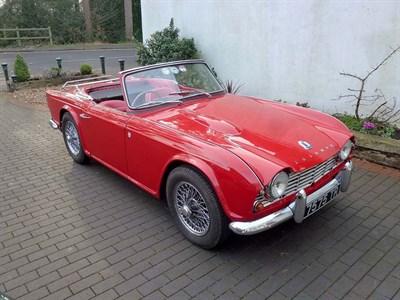 Lot 60-1962 Triumph TR4