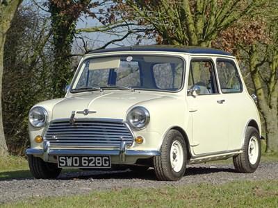 Lot 20-1969 Morris Mini Cooper MKII