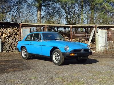 Lot 79-1982 MG B GT