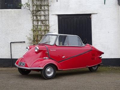 Lot 30-1959 Messerschmitt KR200 Cabriolet DeLuxe