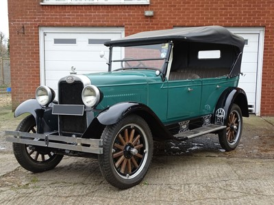 Lot 55-1927 Chevrolet Capitol Tourer
