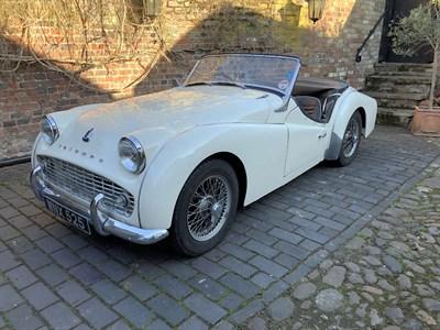 Lot 65-1956 Triumph TR3
