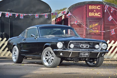 Lot 74-1967 Ford Mustang 390 GT Fastback