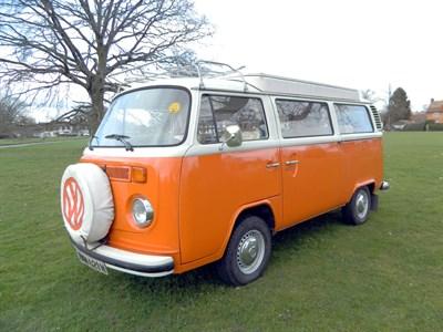 Lot 58-1974 Volkswagen Type 2 Camper Van