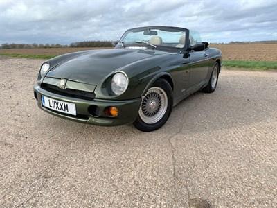 Lot 89-1994 MG R V8
