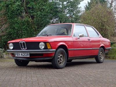Lot 41-1976 BMW 316