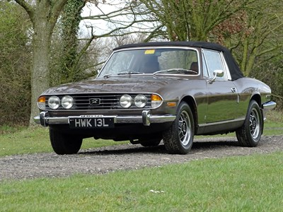 Lot 18-1973 Triumph Stag