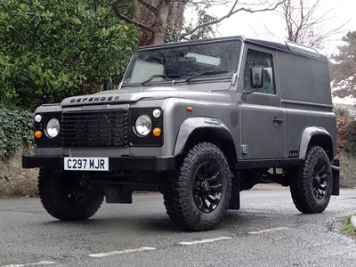 Lot 82-1985 Land Rover Defender 90 TDi
