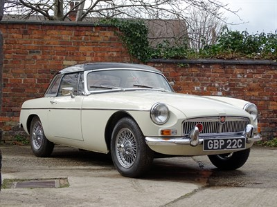 Lot 8-1965 MG B Roadster