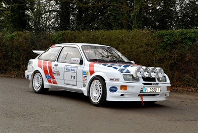 Lot 72-1986 Ford Sierra RS Cosworth Group A Rally Car