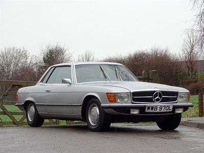 Lot 10-1972 Mercedes-Benz 350 SLC