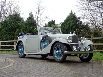 Lot 48-1935 AC 16/66 Drophead Coupe