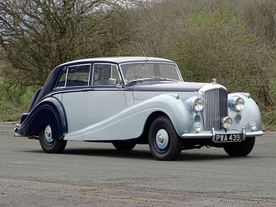 Lot 55-1952 Bentley R-Type H.J. Mulliner Sports Saloon