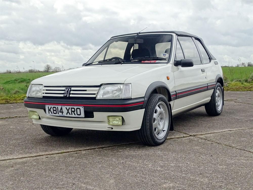 Lot 39 - 1992 Peugeot 205 CTi