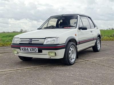 Lot 9 - 1992 Peugeot 205 CTi