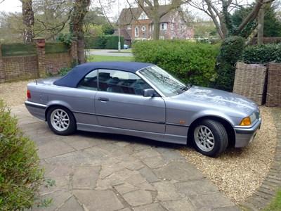Lot 16 - 1997 BMW 328i Cabriolet