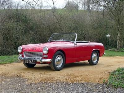 Lot 58-1962 Austin-Healey Sprite MKII