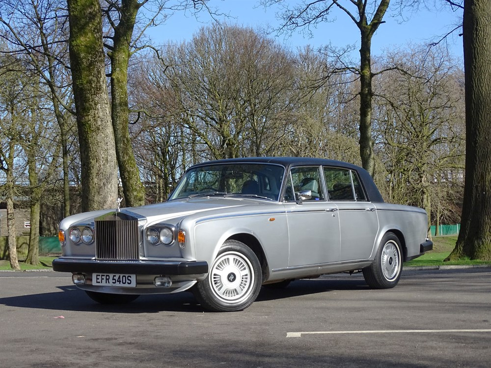 Lot 14-1977 Rolls-Royce Silver Shadow II