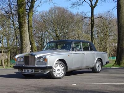 Lot 27-1977 Rolls-Royce Silver Shadow II