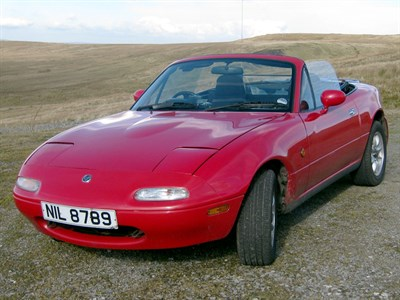 Lot 36-1990 Mazda MX-5 1.6 'Supercharged' Eunos Roadster
