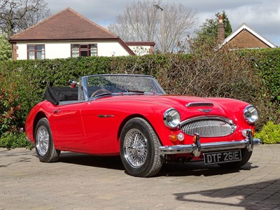 Lot 75-1967 Austin-Healey 3000 MKIII