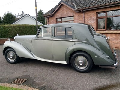 Lot 85-1950 Bentley MK VI Saloon