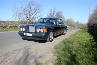 Lot 29-1996 Bentley Turbo R