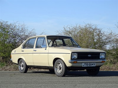 Lot 78-1980 Ford Escort 1.3 L