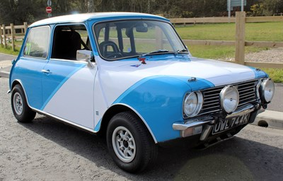 Lot 69-1968 Austin Mini 1275 GT Works Competition Car