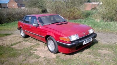 Lot 14-1985 Rover Vitesse