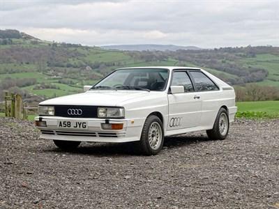 Lot 34-1983 Audi Quattro