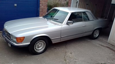 Lot 77-1979 Mercedes-Benz 450 SLC